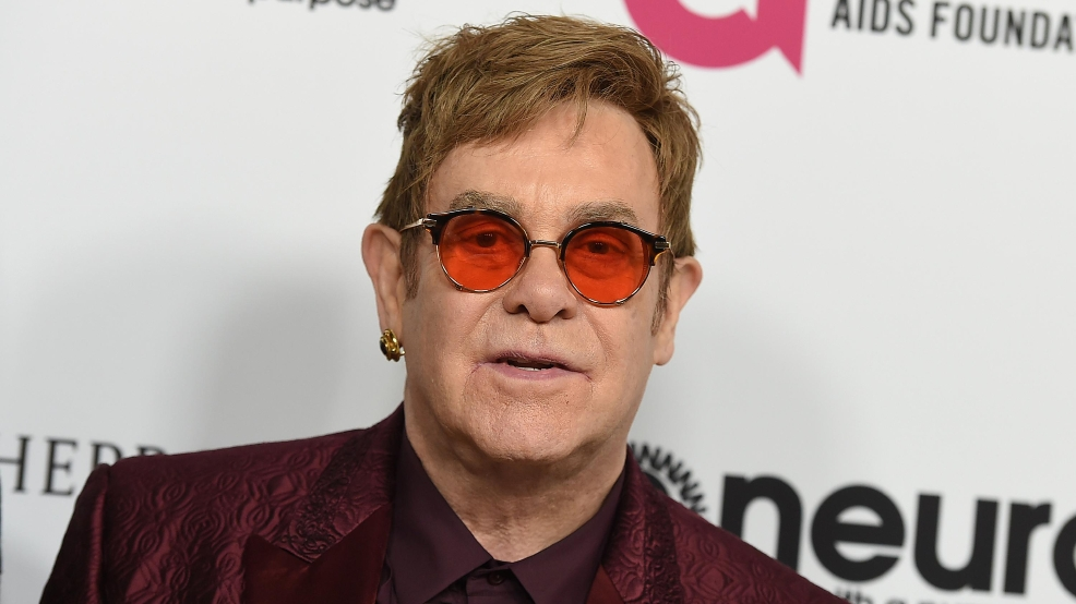 Elton John First Us Tour
