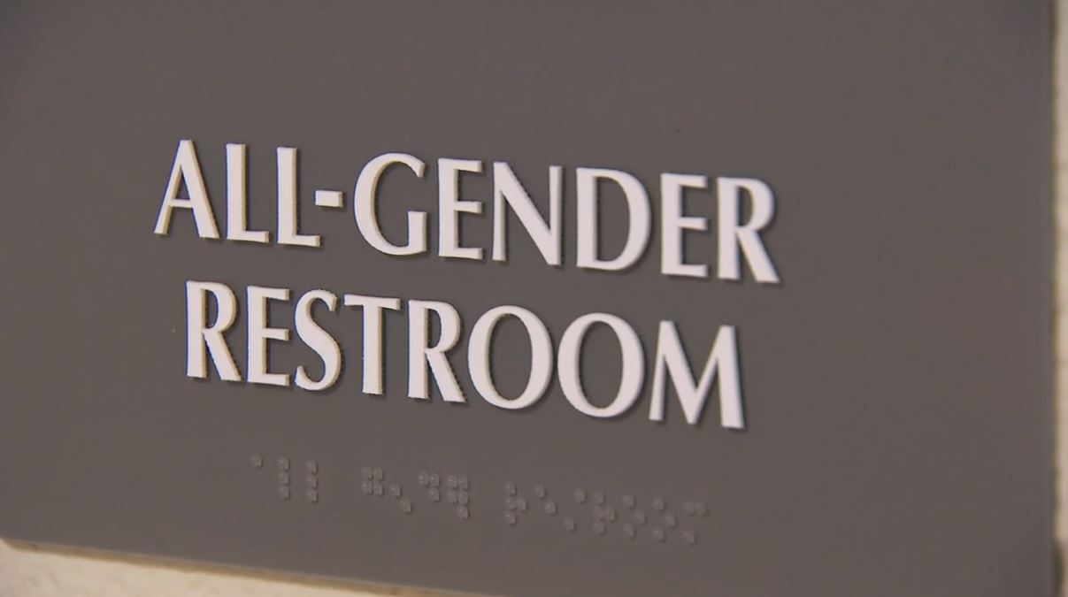 The U.S. Justice Department says a North Carolina law that limits protections to LGBT people violates federal civil rights laws (Photo credit: WLOS)