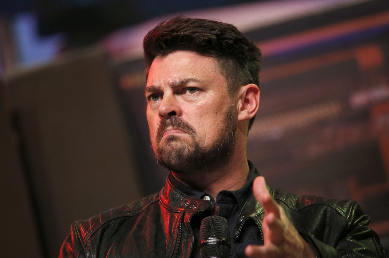 Karl Urban at the FedCon 25 Science Fiction Convention at the Maritim Hotel Bonn. (Christoph Hardt/Future Image/WENN.com)