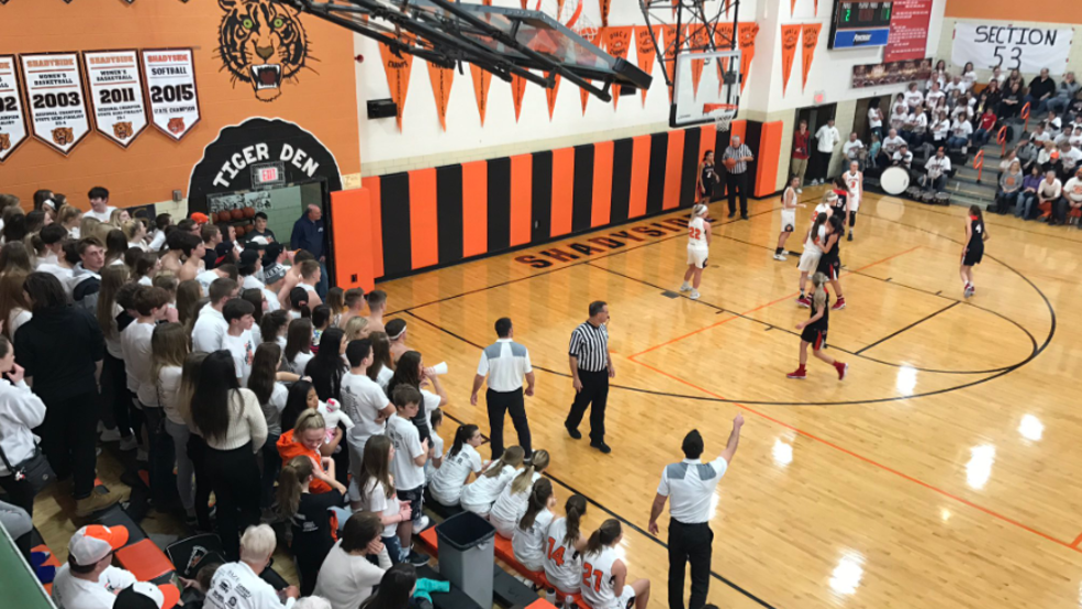 1.28.19 Highlights: Bellaire vs. Shadyside - girls basketball