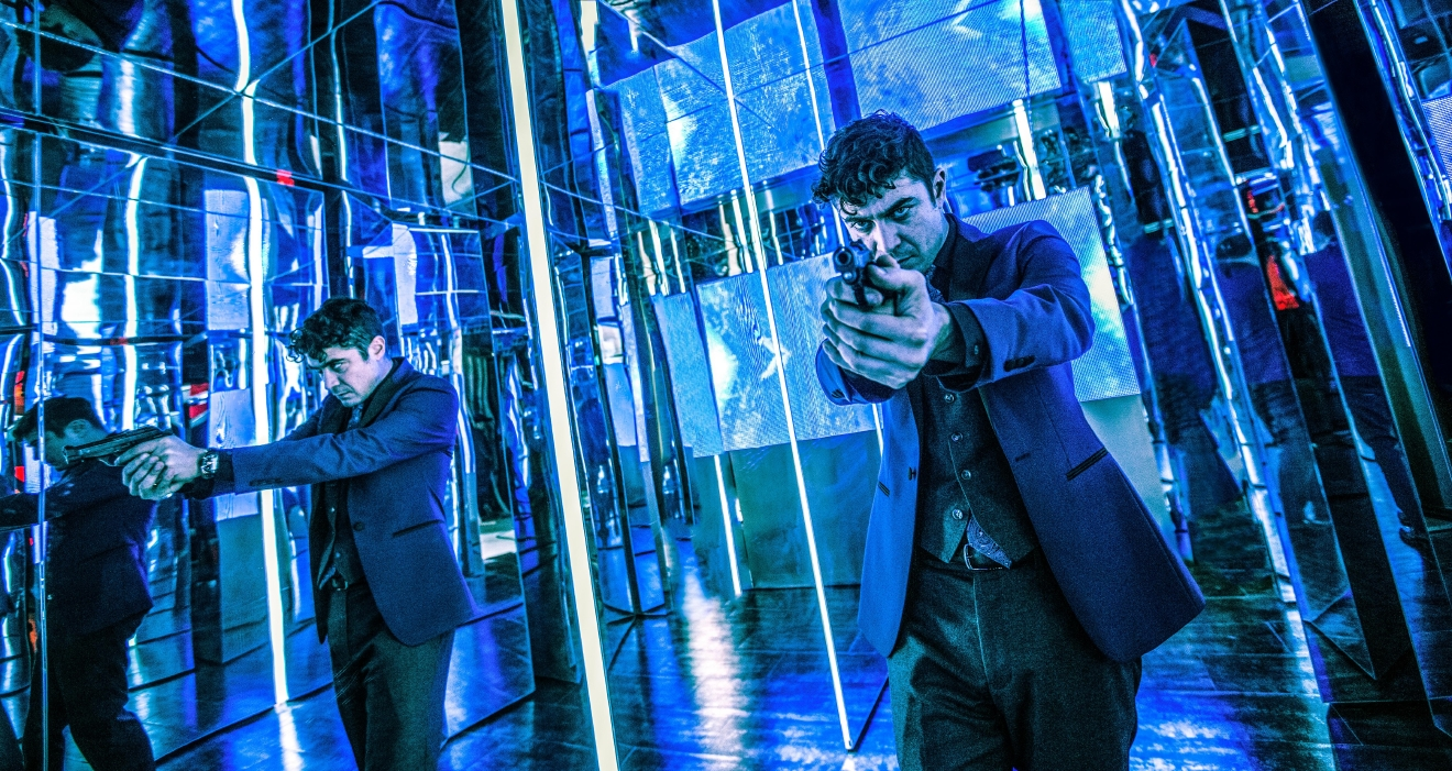 Riccardo Scamarcio stars as 'Santino D'Antonio' in JOHN WICK: CHAPTER 2.