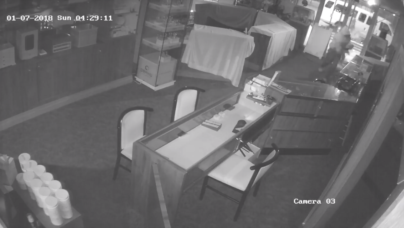 Burglar strikes D.C. jewelry store twice in two months (Courtesy of Metropolitan Police Department)