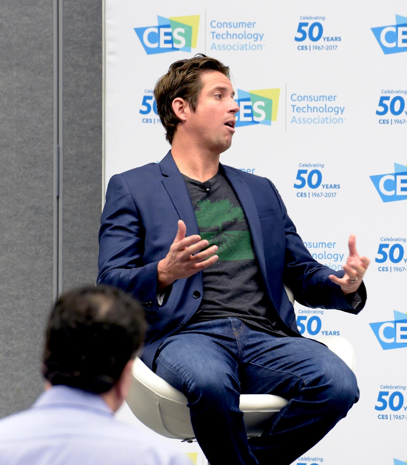 World Trade Center Las Vegas Networking Breakfast with keynote speaker Nick Woodman, President/CEO of GoPro. Friday, January 6, 2017. CREDIT: Glenn Pinkerton/Las Vegas News Bureau