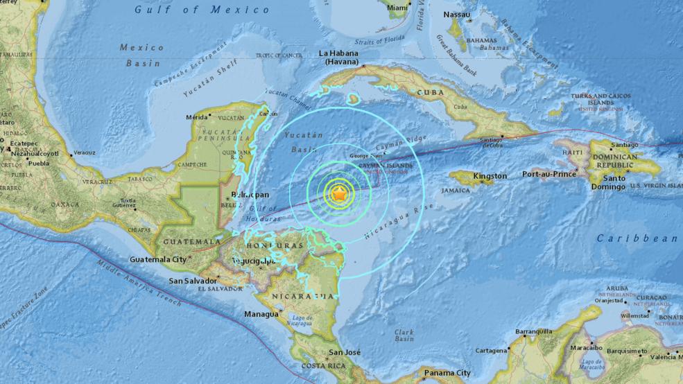 Puerto Rico under tsunami advisory following magnitude 7.6 earthquake
