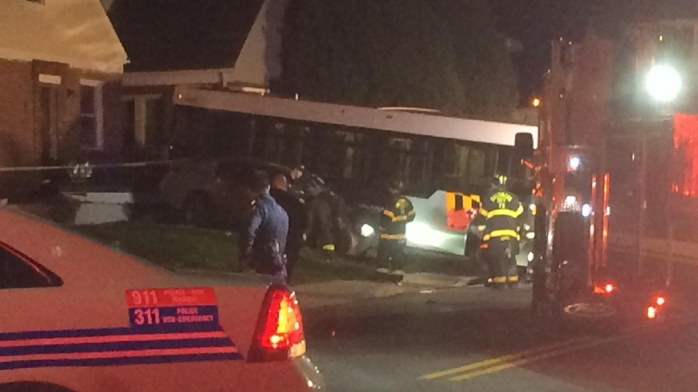 3 hospitalized after mta bus hits ne baltimore home wbff for House hits 88