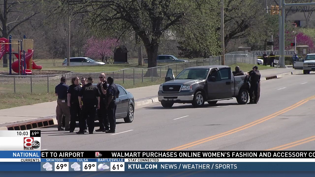 Madison Dickson is dead after an officer-involved shooting near East 91st Street and South Harvard Avenue. (KTUL)
