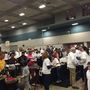 Thousands enjoy a free Thanksgiving meal at annual Feast of Giving