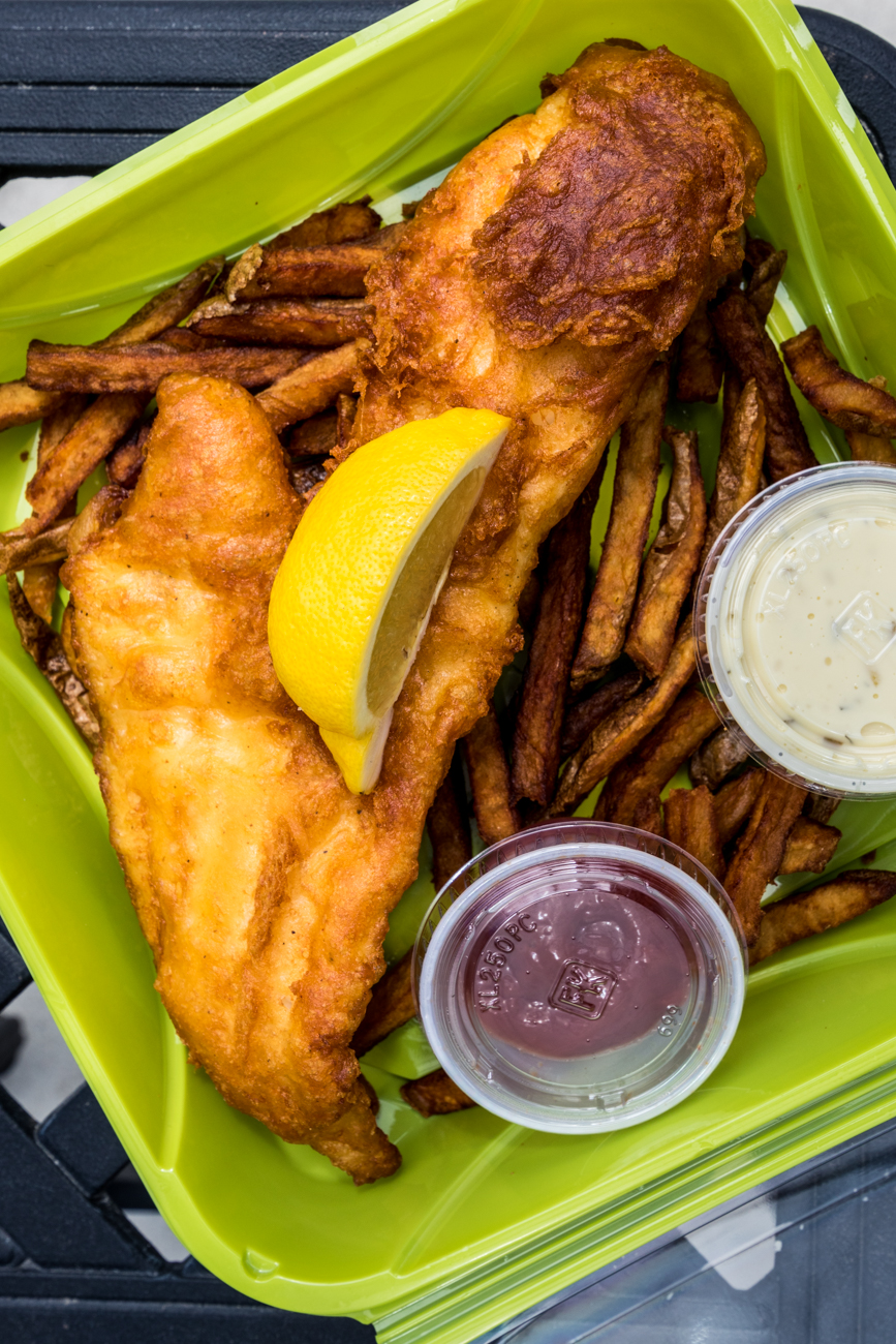 Fish & Chips / Image: Catherine Viox{ }// Published: 5.19.20