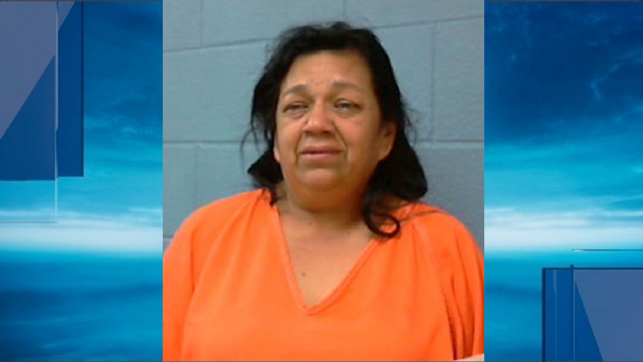 Guadalupe Ceballos was pulled over Wednesday afternoon on Interstate 10 for a traffic violation. She's now charged with money laundering. (Photo: Courtesy of{&amp;nbsp;} Fayette County Sheriff's Office)<p></p>