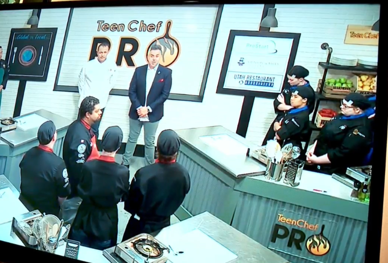 """Teen Chef Pro is a taxpayer-funded reality TV program produced by Reel People Productions. (Photo: KUTV)"
