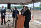 Hinterland Brewery groundbreaking, Packers Titletown District