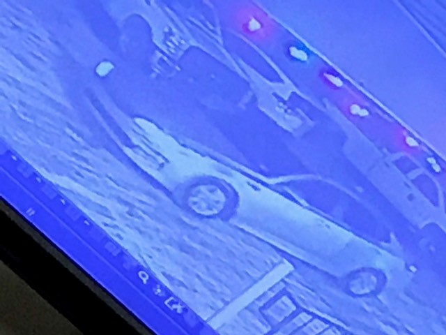 Dunbar police say the man who robbed the Super 8 Motel left the scene in a four-door silver vehicle. (WCHS/WVAH)