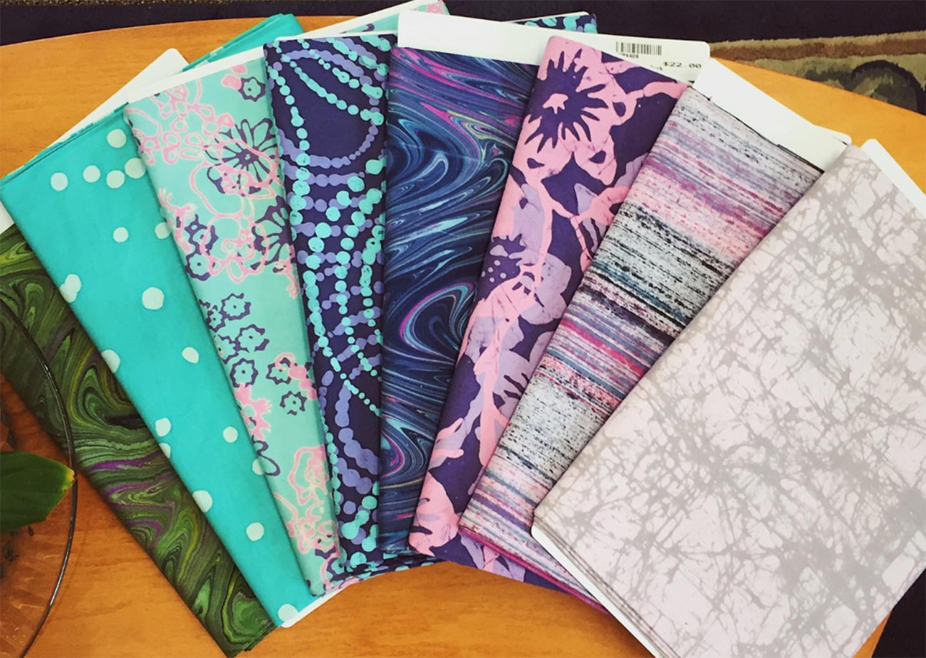 Silk Road Textiles (supplies and classes for fiber artists, modern quilters, and knitters) / Although their hours have temporarily changed, Silk Road is still open for back door pickup on select days (check their website for specific days and hours, as they are subject to change). You can also order supplies and kits by phone or email, or buy a gift or gift certificate for a friend. / ADDRESS: 6106 Hamilton Avenue (College Hill) / PHONE: (513) 541-3700 / WEBSITE: silkroadcincinnati.com / Image courtesy of Silk Road Textiles // Published: 3.31.20