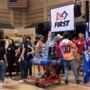 Nearly 50 robotics teams compete to head to World Championship