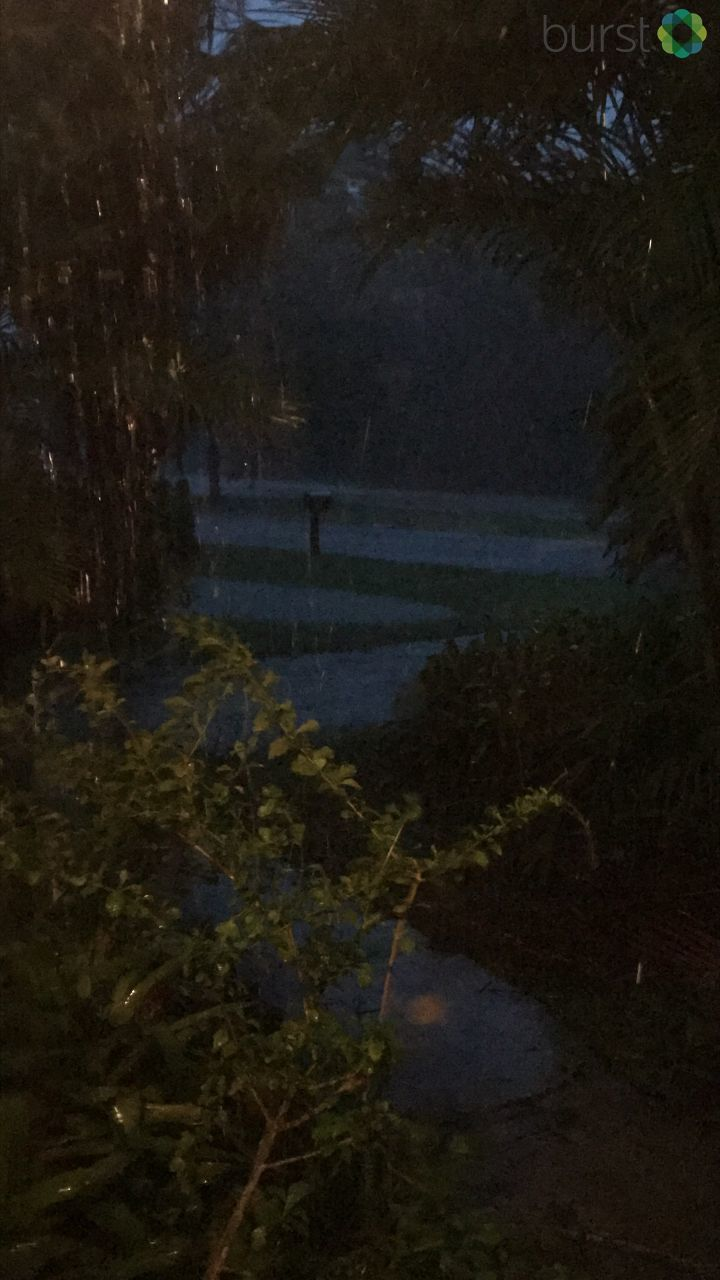 Rain begins to pick up at Lakewood Park in Fort Pierce, FL (Photo submitted via Burst)