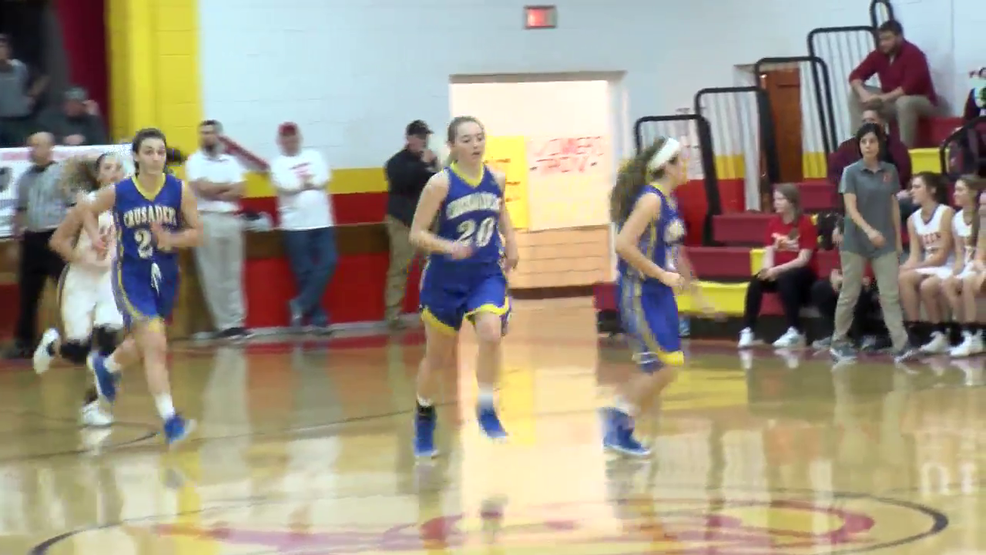 1.18.18 Video - Steubenville CC vs. Indian Creek - Girls' high school basketball