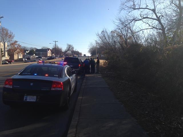 Edmond PD says the baby was delivered near E 15th and S Rankin.