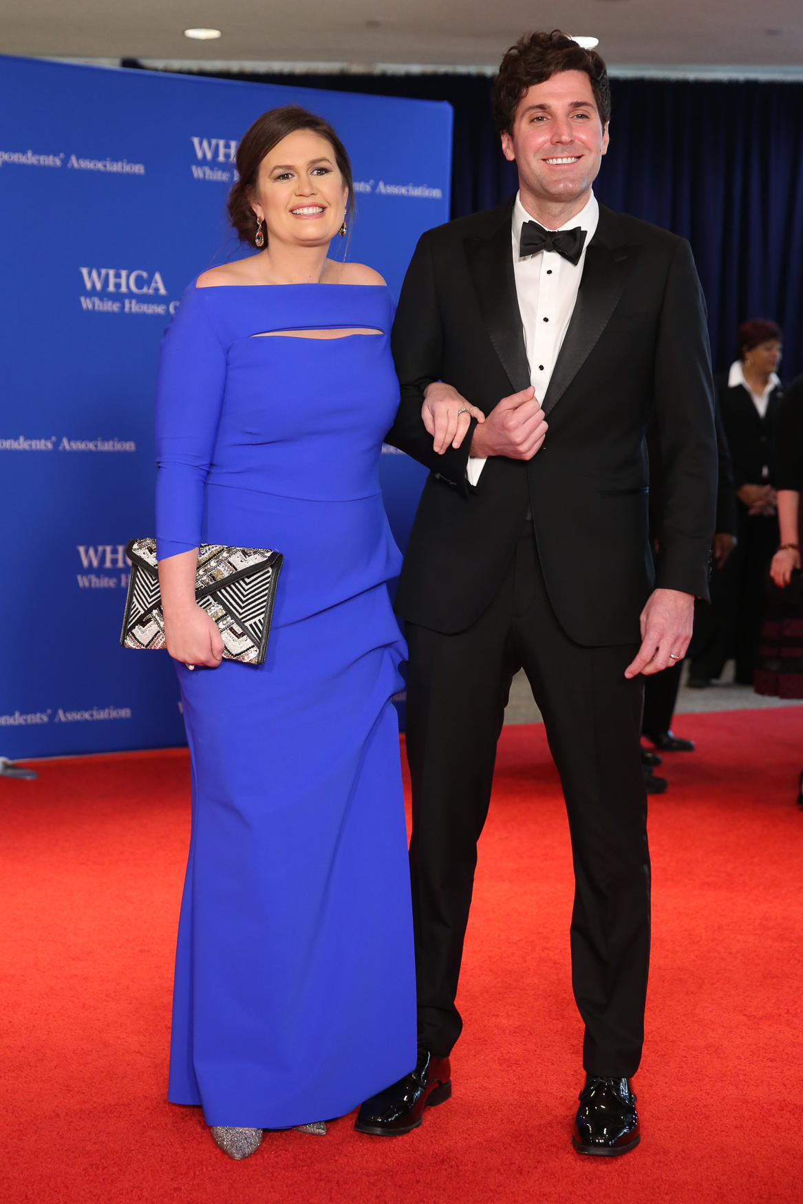 Sara Huckabee Sanders and her husband Bryan.{ } (Amanda Andrade-Rhaodes/DC Refined)
