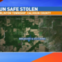 Gun safe, weapons, ammunition stolen from Calhoun County home