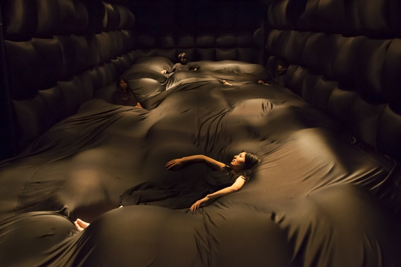 Gallery immersive art exhibit wants you to touch feel and see