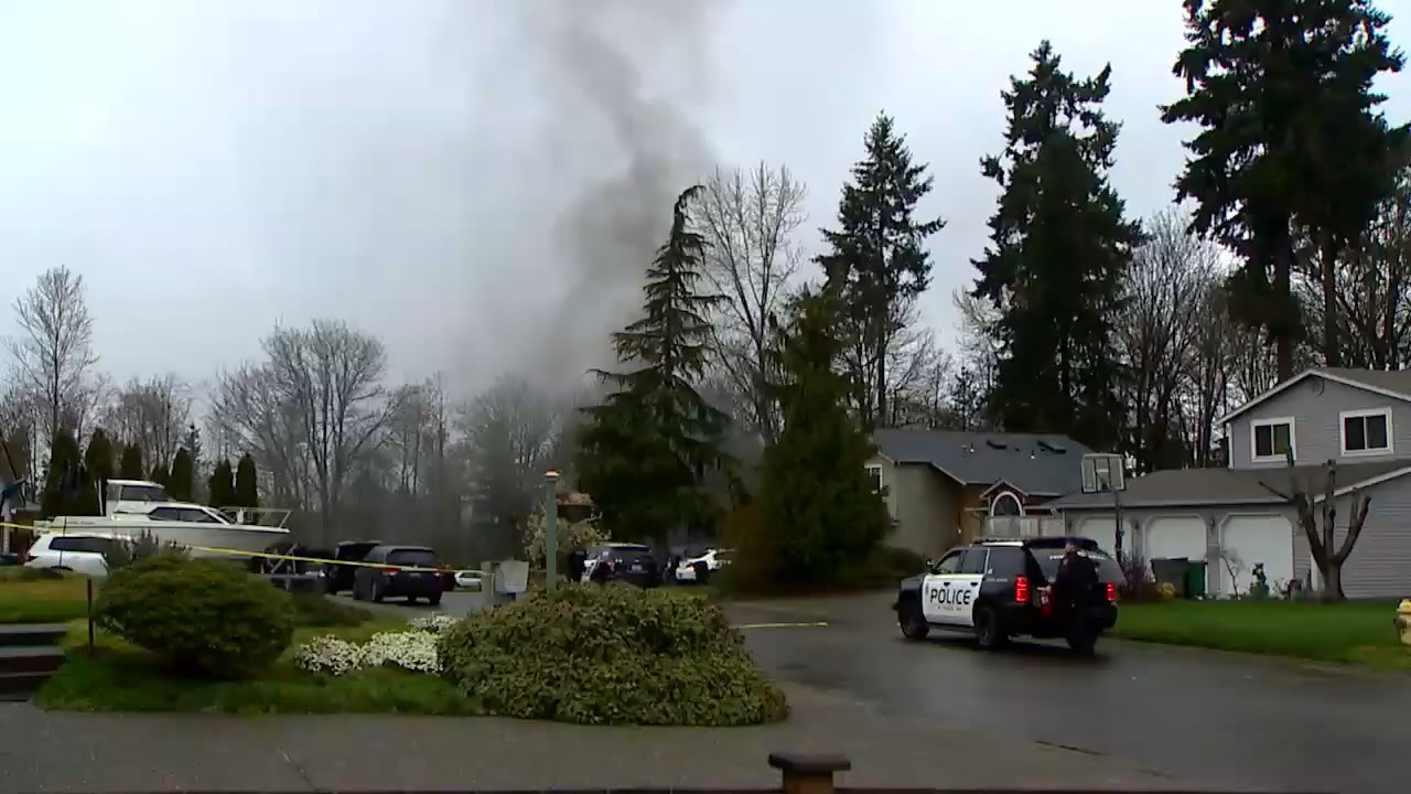 Police continue to investigate man killed in Federal Way home after standoff. (KOMO News){ }