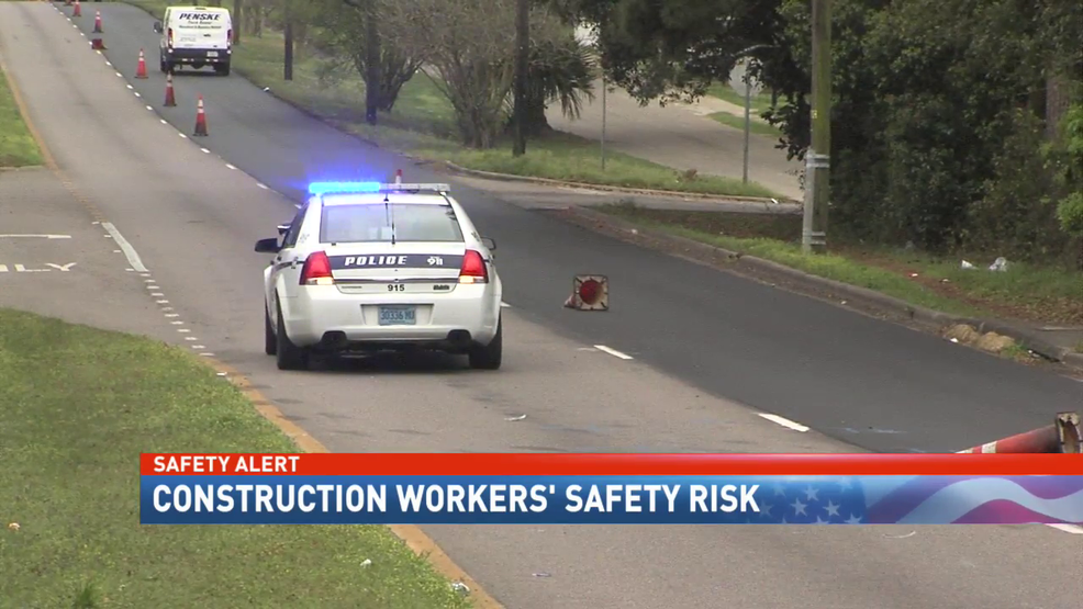 Mobile drivers ignore construction zone warnings day after worker struck and killed (img: WPMI)