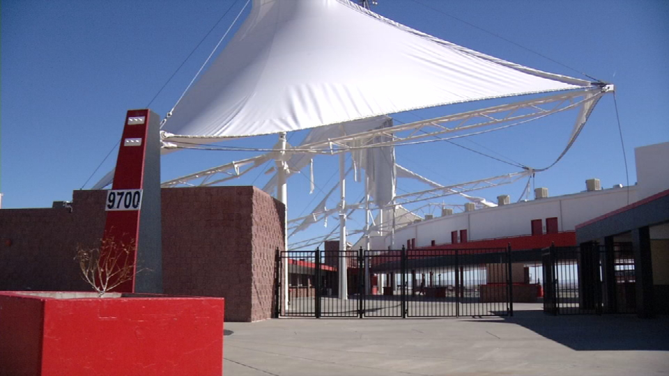 Redesign and maintenance funding for Cohen Stadium canopy being looked into by the city. (CBS4)