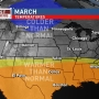 March weather outlook: An early spring with the potential for some cold snaps