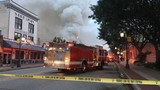 UPDATE: Crews battle massive fire at The Corner Bar in Rockford