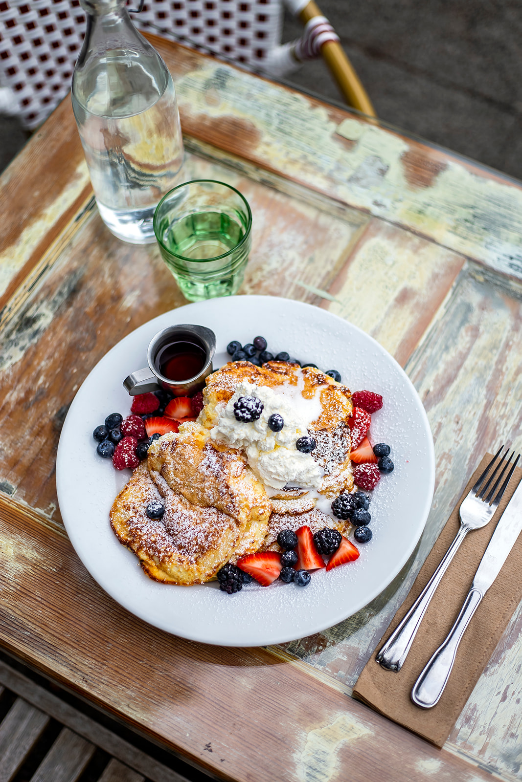 "The most popular dish on Cafe Mia's menu is the Lemon Ricotta Pancakes topped with fresh market fruit, Canadian maple syrup and house-made whipped cream with a dusting of powdered sugar. Cafe Mia features seasonal, locally-sourced and ethical cuisine - every dish is prepared in house by Mia herself. Cafe Mia is tucked away near the West Seattle Junction on SW Oregon Street. The perfect spot for brunch after hitting the farmers market on Sunday! Find them on Instagram{&nbsp;}<a  href=""https://www.instagram.com/cafe.mia/?hl=en"" target=""_blank"" title=""https://www.instagram.com/cafe.mia/?hl=en"">@cafe.mia</a>. (Image:{&nbsp;}Samantha Witt / Seattle Refined)"