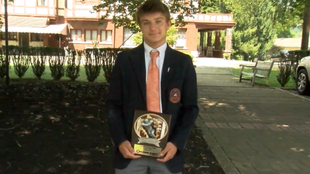 9.5.18 Player of the Week – Jules Giovengo, Linsly
