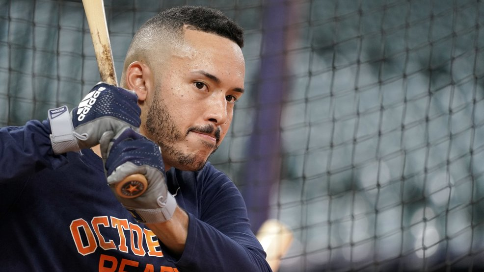 Houston SS Correa struggles with back problem as ALCS looms