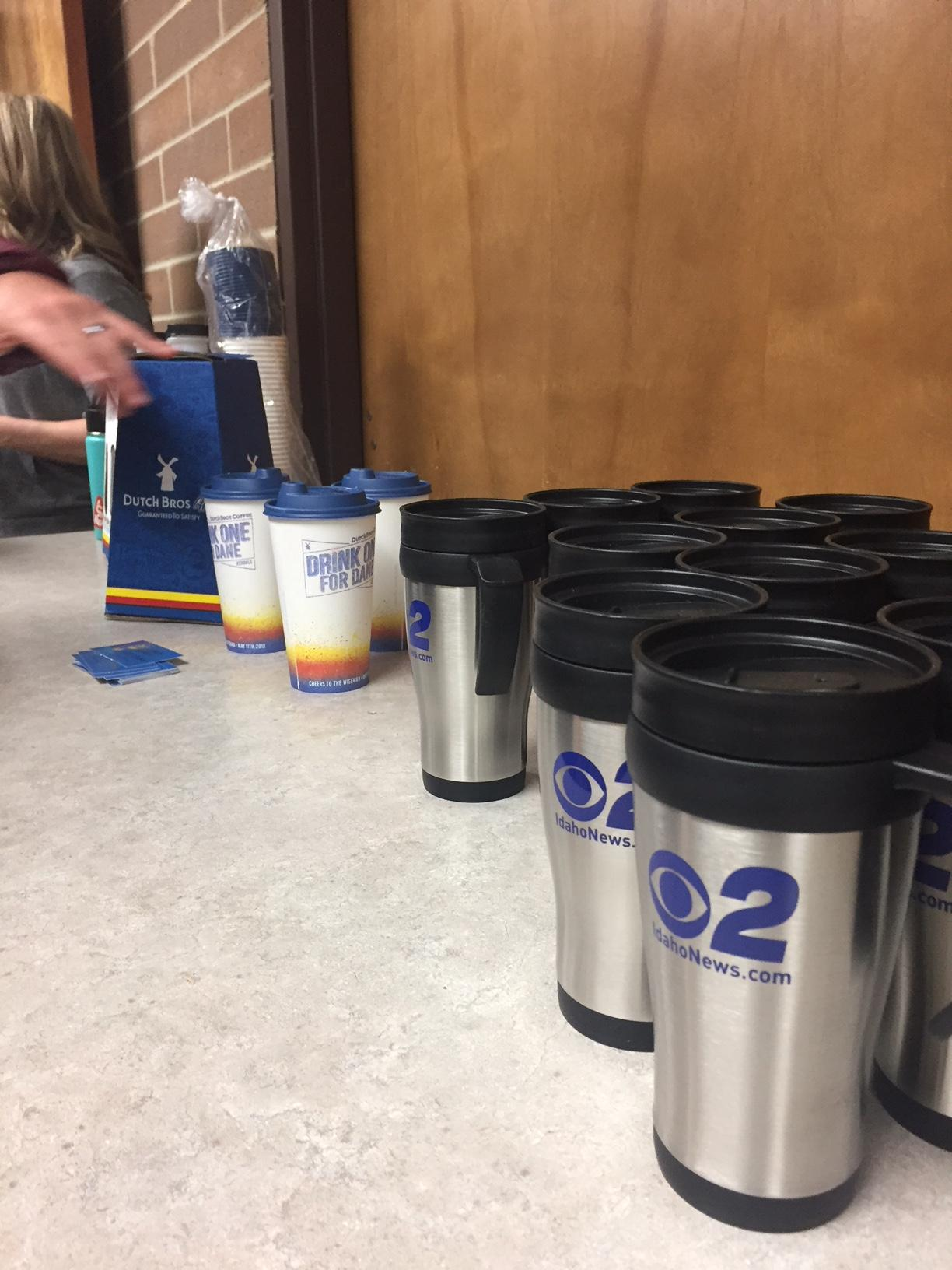 Mugshot Mondays: This week's winner is Cole Valley Christian School in Boise! We helped deliver free Dutch Bros. Coffee and KBOI mugs!Want your business to be next? Enter: https://bit.ly/2JvKhVe