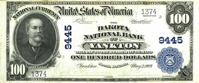 Established in the Civil War, the National Bank system permitted banks to obtain federal charters that allowed them to issue money designed and customized by the U.S. government. 12,00 banks issued currency before it was abolished in 1935.