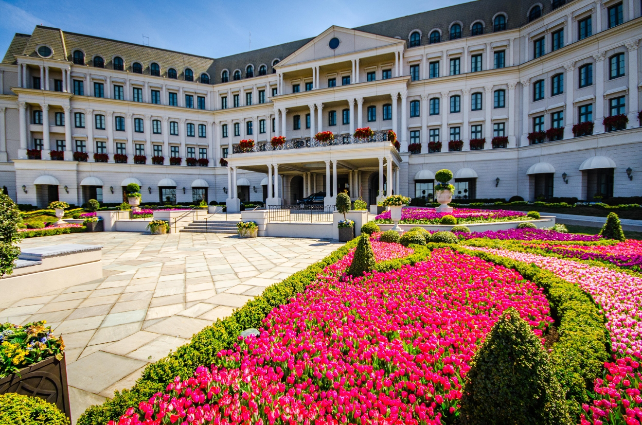 You may not be living JoJo's glamorous reality TV star life, but in three hours you can be at Nemacolin Woodlands Resort where last week and this week's episodes were filmed. (Image: Courtesy Nemacolin Woodlands Resort)