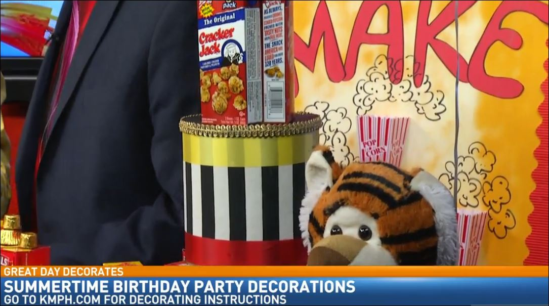 Birthday Party Decorating with Doug Alves: Circus Theme