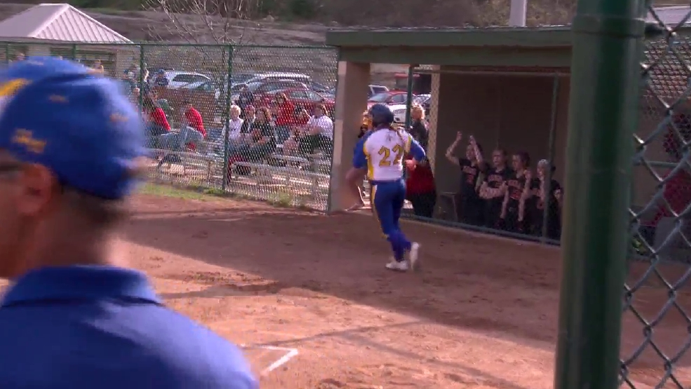 4.26.16 Video- Steubenville Central and Buckeye Trail advance to OVAC 3A softball final