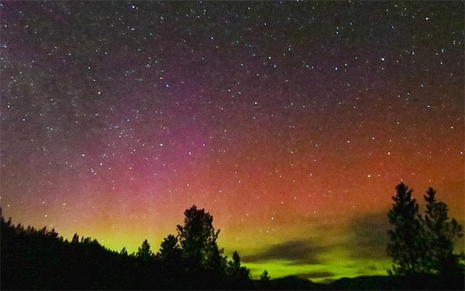 Aurora at Keller, WA (Photo Courtesy YouNews contributor: Rocky Rabell)
