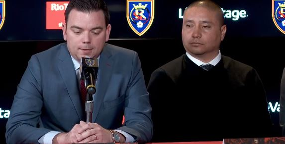 <p>Real Salt Lake has named Freddy Juarez as its new head coach and Elliot Fall as its new general manager. (Photo: KUTV)</p>