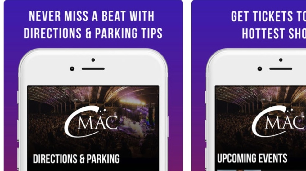 CMAC adds new app for concerts, events