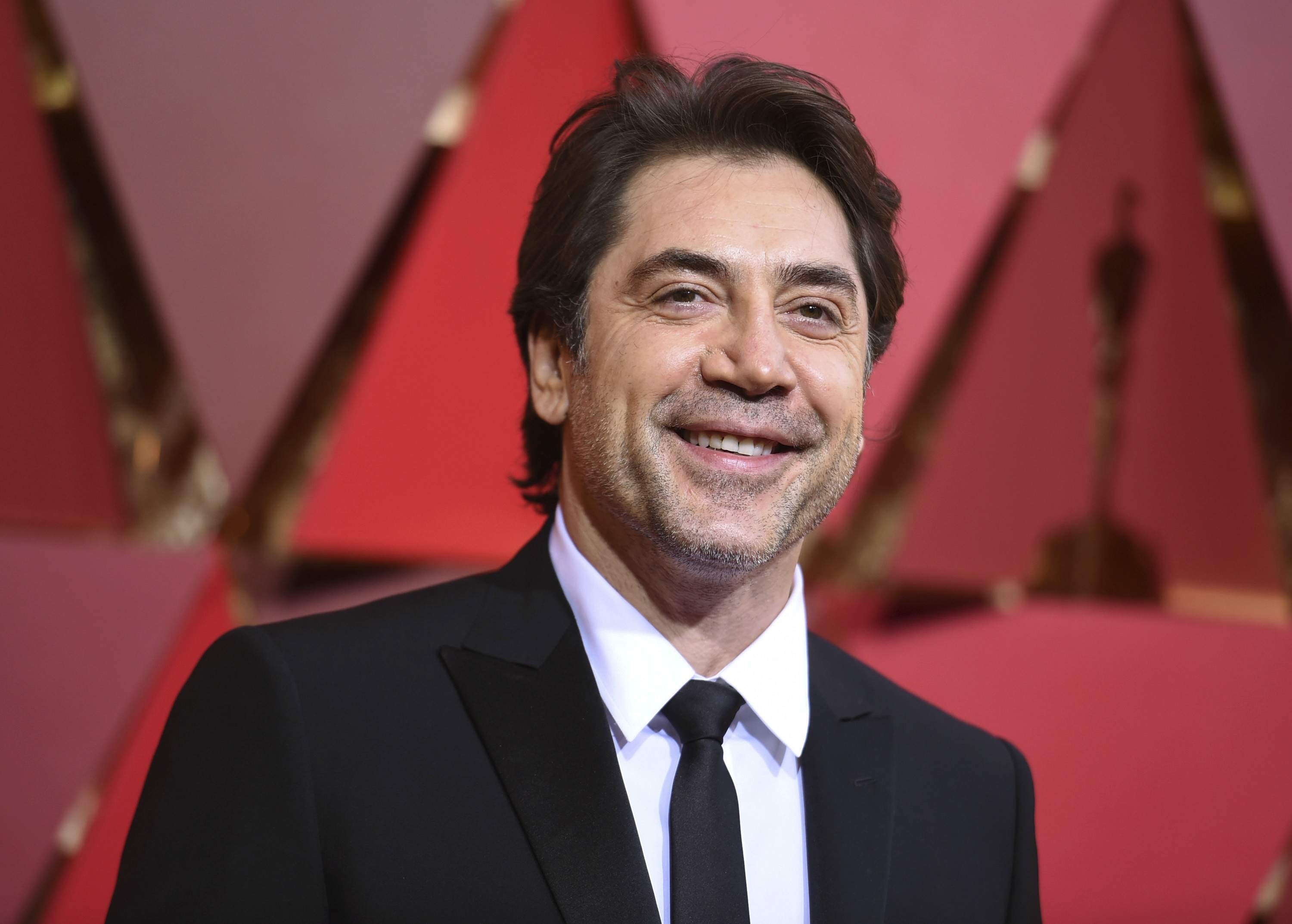 Javier Bardem arrives at the Oscars on Sunday, Feb. 26, 2017, at the Dolby Theatre in Los Angeles. THE ASSOCIATED PRESS