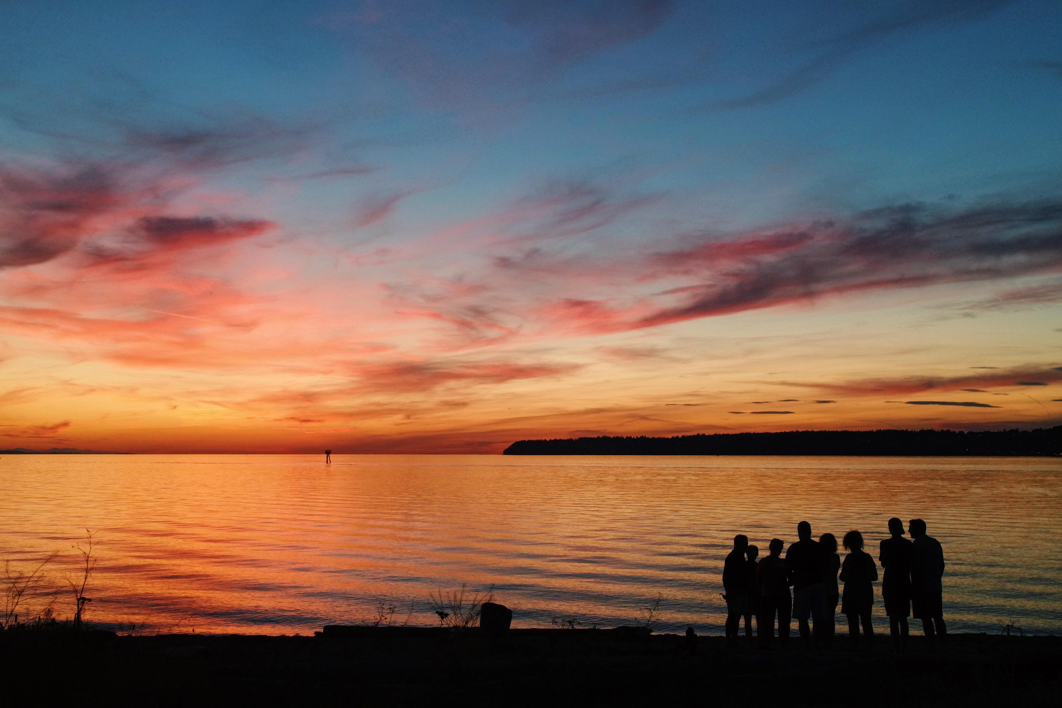 Autumn sets the Semiahmoo spit afire with brilliant fall foliage and blazing sunsets.