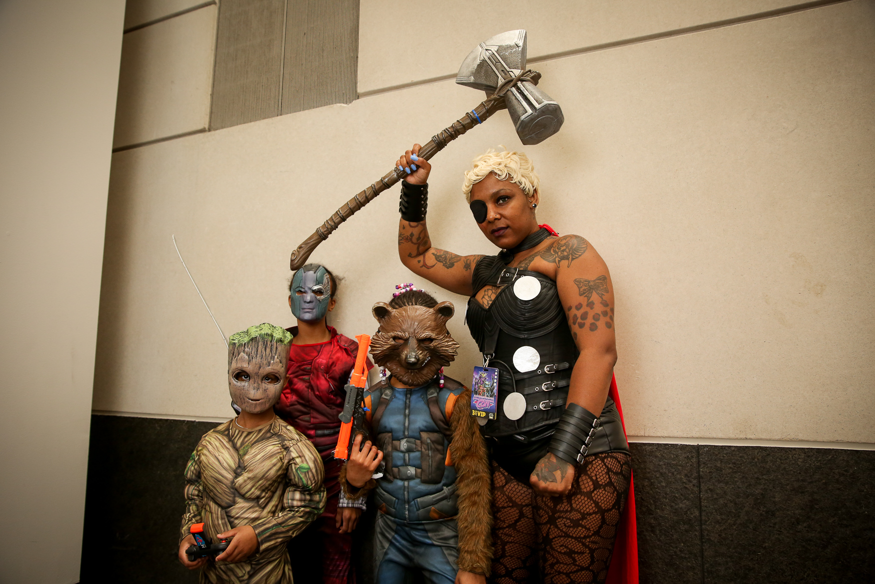 Nearly 80,000 people showed up to the Walter E. Washington Convention Center dressed to the nines over the course of three days for Awesome Con 2019. As always, we were blown away by the level of creativity we saw with the cosplay costumes at the convention.{ } Our photographer was on hand making cosplay portraits for day one and two of the convention. Here is a collection of some of our favorite cosplayers we saw at Awesome Con 2019! (Image: Amanda Andrade-Rhoades/ DC Refined)