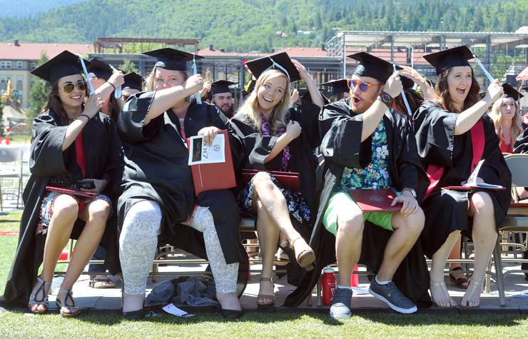 2017 Southern Oregon University graduation