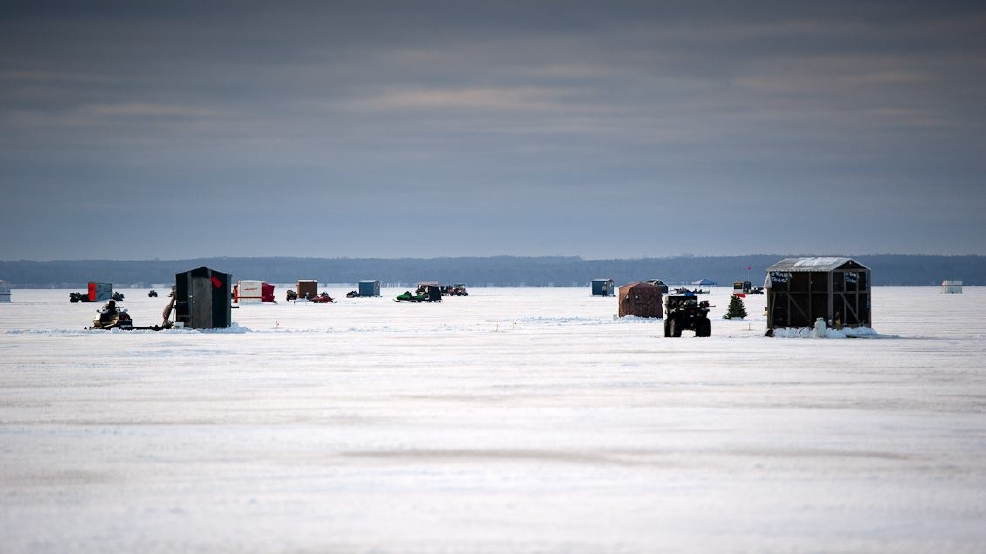 Dnr reminds anglers of mandatory ice shanty removal dates for Ice fishing lake st clair