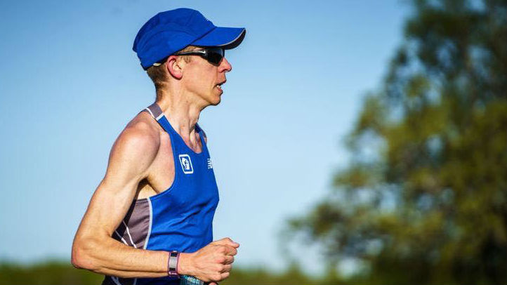In May, Barrett won the Med City Marathon in Rochester, MN- by more than ten minutes (2:29:16).