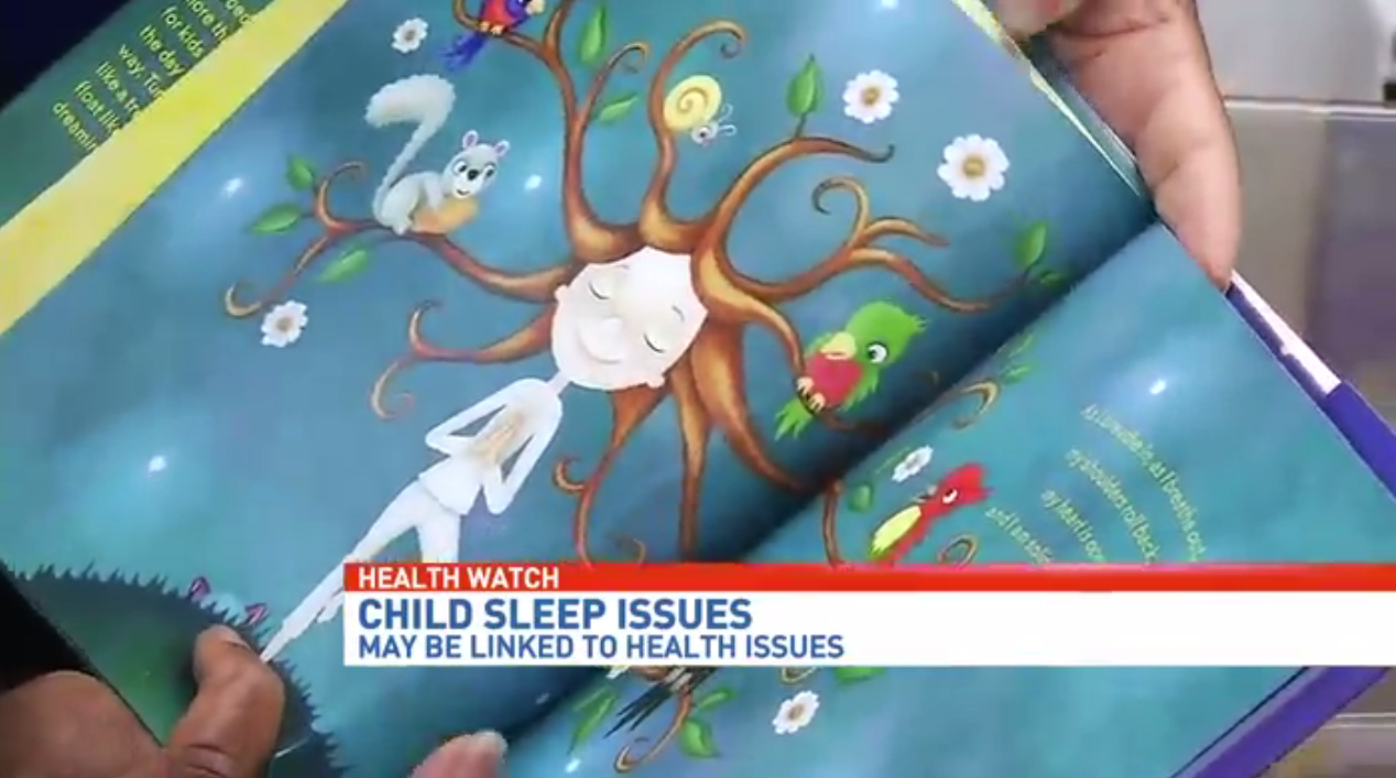 Growing number of children are having problems sleeping