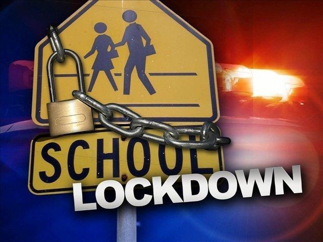 <p>School lockdown</p><p></p>