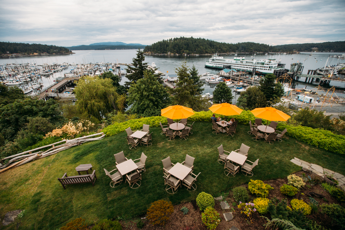 Just a short ferry ride away, Friday Harbor House, in the San Juan Islands, offers cozy rooms with a fireplace, an oversized jetted tub-for-two and more. Friday Harbor dining experience offers panoramic views of the San Juan Channel, ferry landing and marina at The Bluff Restaurant Bar Terrace. Learn more about Friday Harbor House and book your next getaway at their website here. (Joshua Lewis / Seattle Refined)