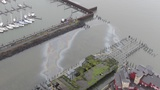 Oil spill on Columbia River near Astoria, Coast Guard puts in containment boom